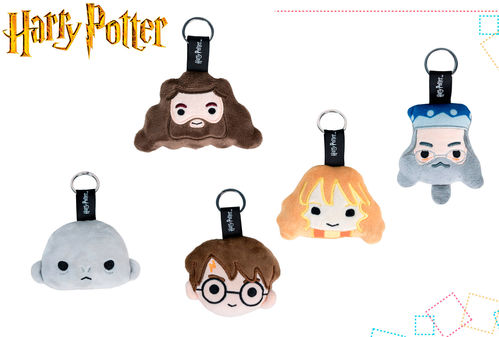 Harry Potter assorted plush key 5md 8cms