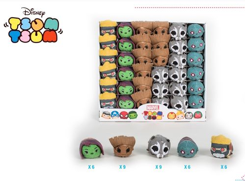 MARVEL TSUM TSUM GUARDIANS OF THE GALAXY ASSORTED PACK 36PCS