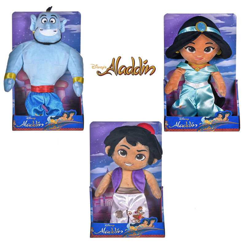 Disney Aladdin assorted in display 28cms